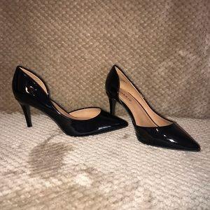 Black Pointed toe Heel pump